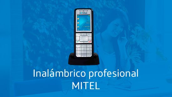 Inalámbrico profesional Mitel