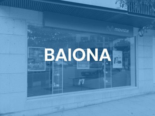 "Baiona<p style=""font-size:12px;"">Baiona</p>"