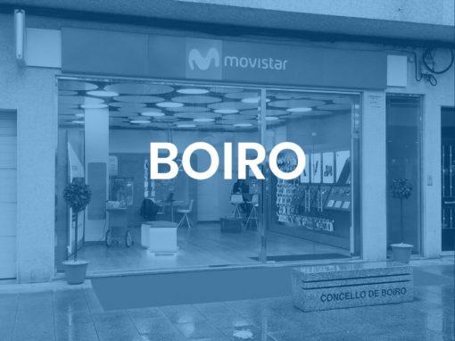 "Boiro<p style=""font-size:12px;"">Boiro</p>"
