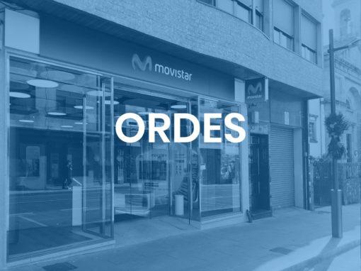 """Ordes<p style=""""font-size:12px;"""">Ordes</p>"""