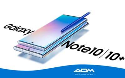Promoción de lanzamiento del nuevo Samsung Galaxy Note10 y Note10+