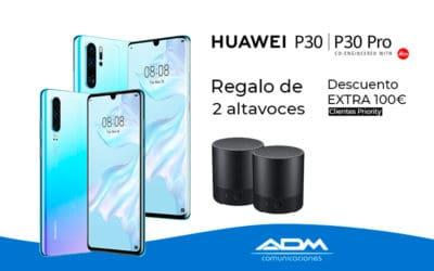 Regalo de 2 altavoces con Huawei P30 | P30 Pro
